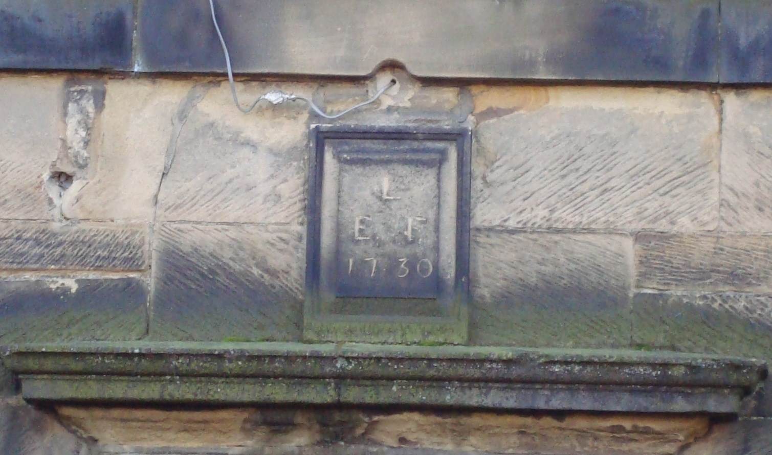 Lindley House date stone